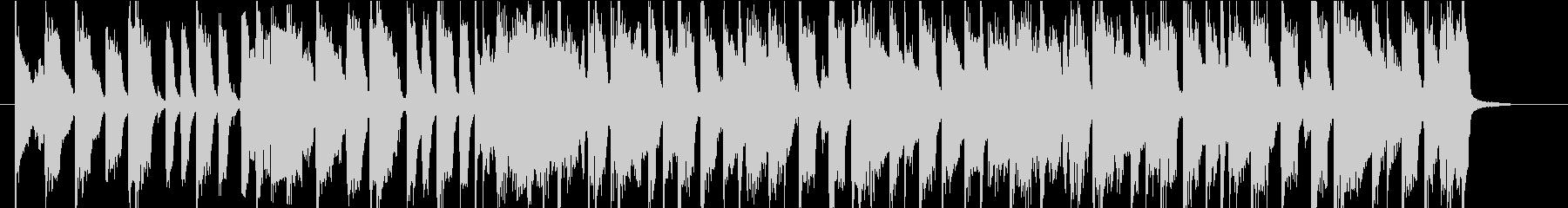 Jackson5風 ポップなオープニングの未再生の波形