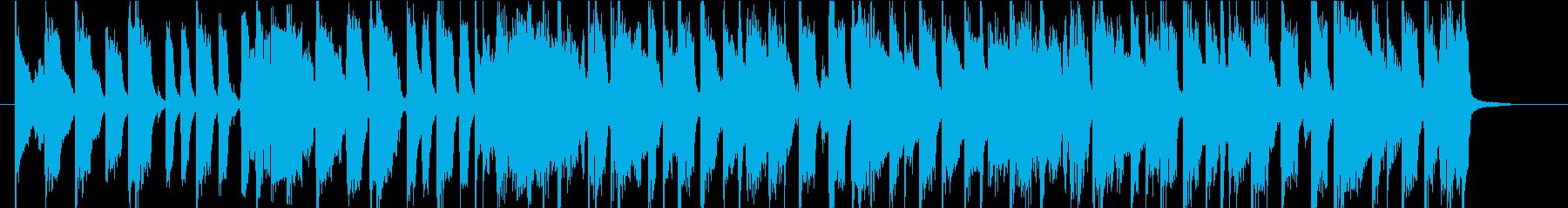 Jackson5風 ポップなオープニングの再生済みの波形