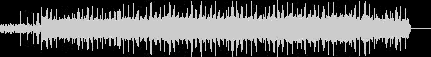 マリンバと繰り返すメロディの切ない曲の未再生の波形