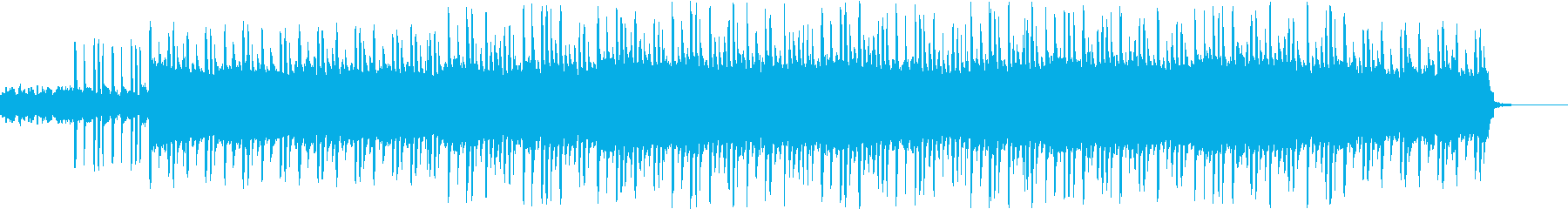 マリンバと繰り返すメロディの切ない曲の再生済みの波形