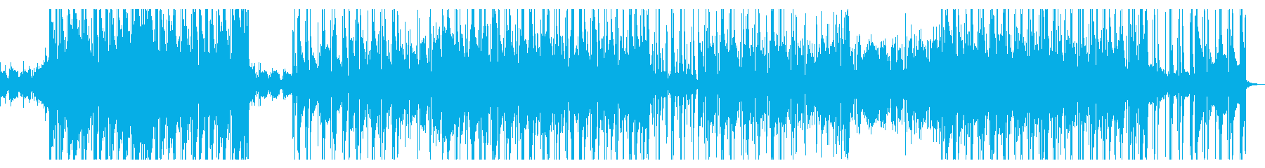 Cool Western music EDM pop music's reproduced waveform
