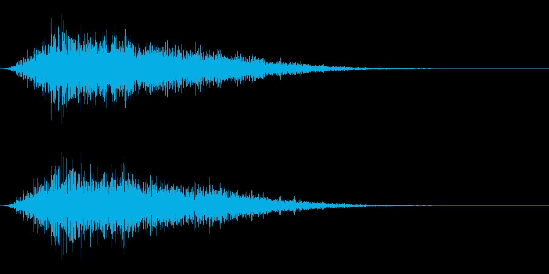 キュイーン(パワーアップ/レベルアップ)の再生済みの波形