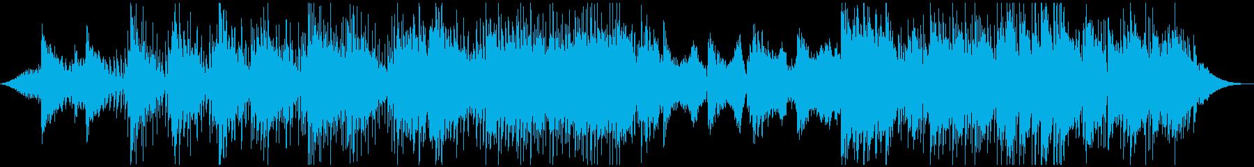 涼しげなボサノバ風味のポストロックの再生済みの波形
