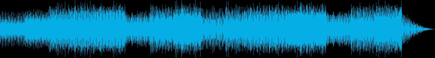 頭脳系バトルな雰囲気のクールEDMの再生済みの波形