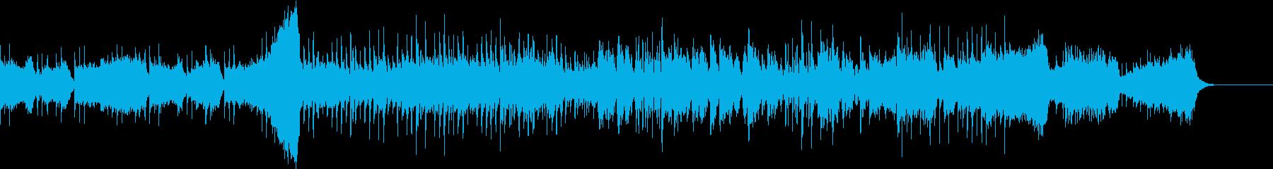 弦楽器と中華伝統楽器の融合の再生済みの波形