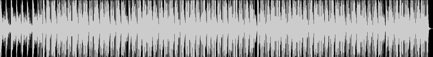 ピアノ、しっとり、LOFIHIPHOPの未再生の波形