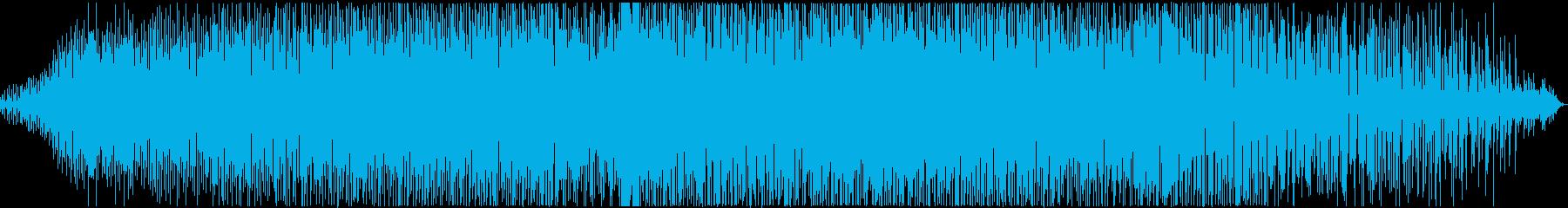 緊迫感_奇妙で毒々しいアシッドハウスの再生済みの波形
