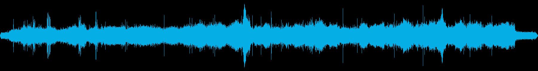 草刈り機の音など【冬、昼】の再生済みの波形