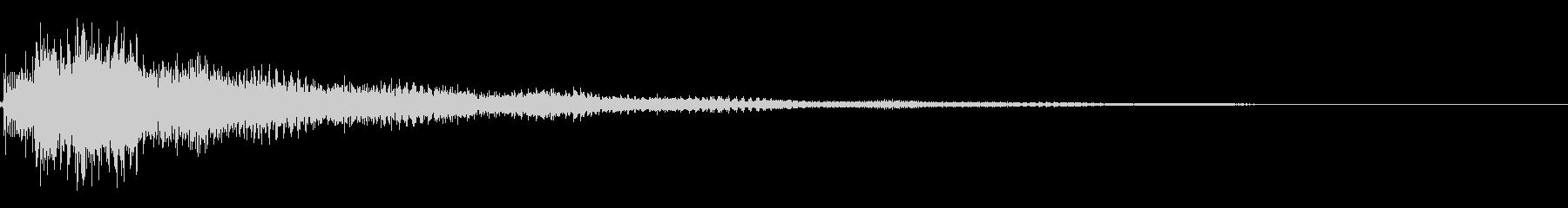 エレキギター(クリーントーン)の未再生の波形