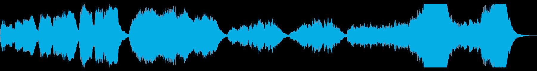バッハ・トッカータとフーガ原曲・オルガンの再生済みの波形