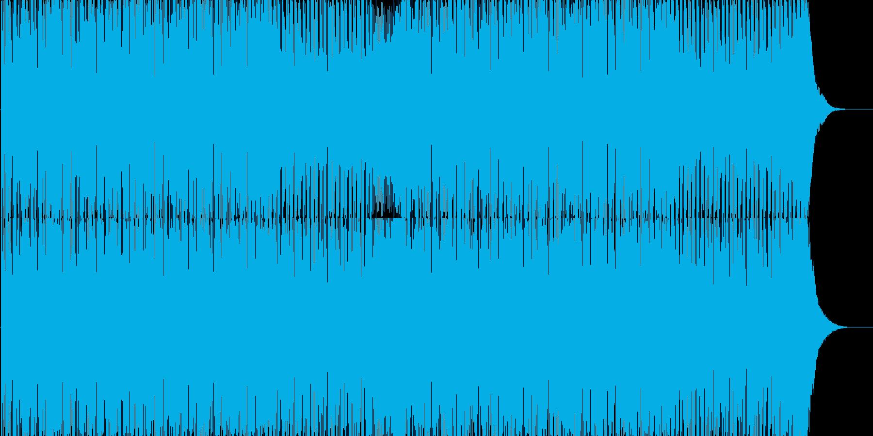 クイズ等に最適な緊張感漂うBGMの再生済みの波形