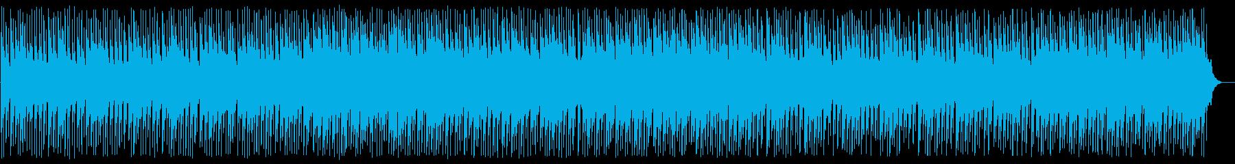 和風で寂しげな弦楽器の集まりの再生済みの波形