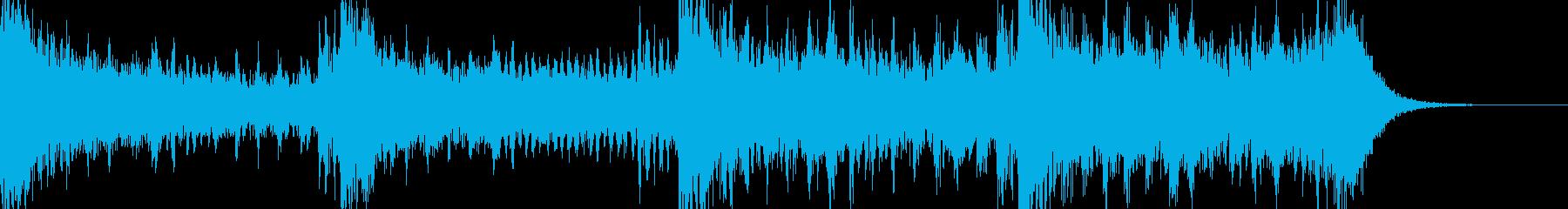 緊迫感・戦闘シーン ピアノ・ストリングスの再生済みの波形