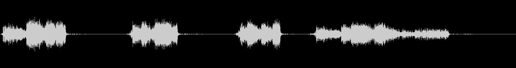 スプレーペイント:スプレー、ランア...の未再生の波形
