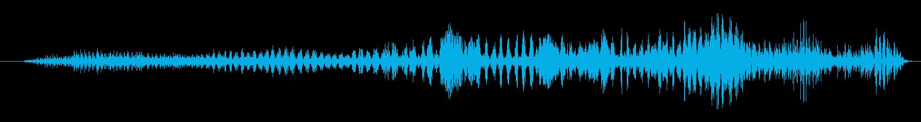 ゾンビ ヒューマンチェンジ04の再生済みの波形