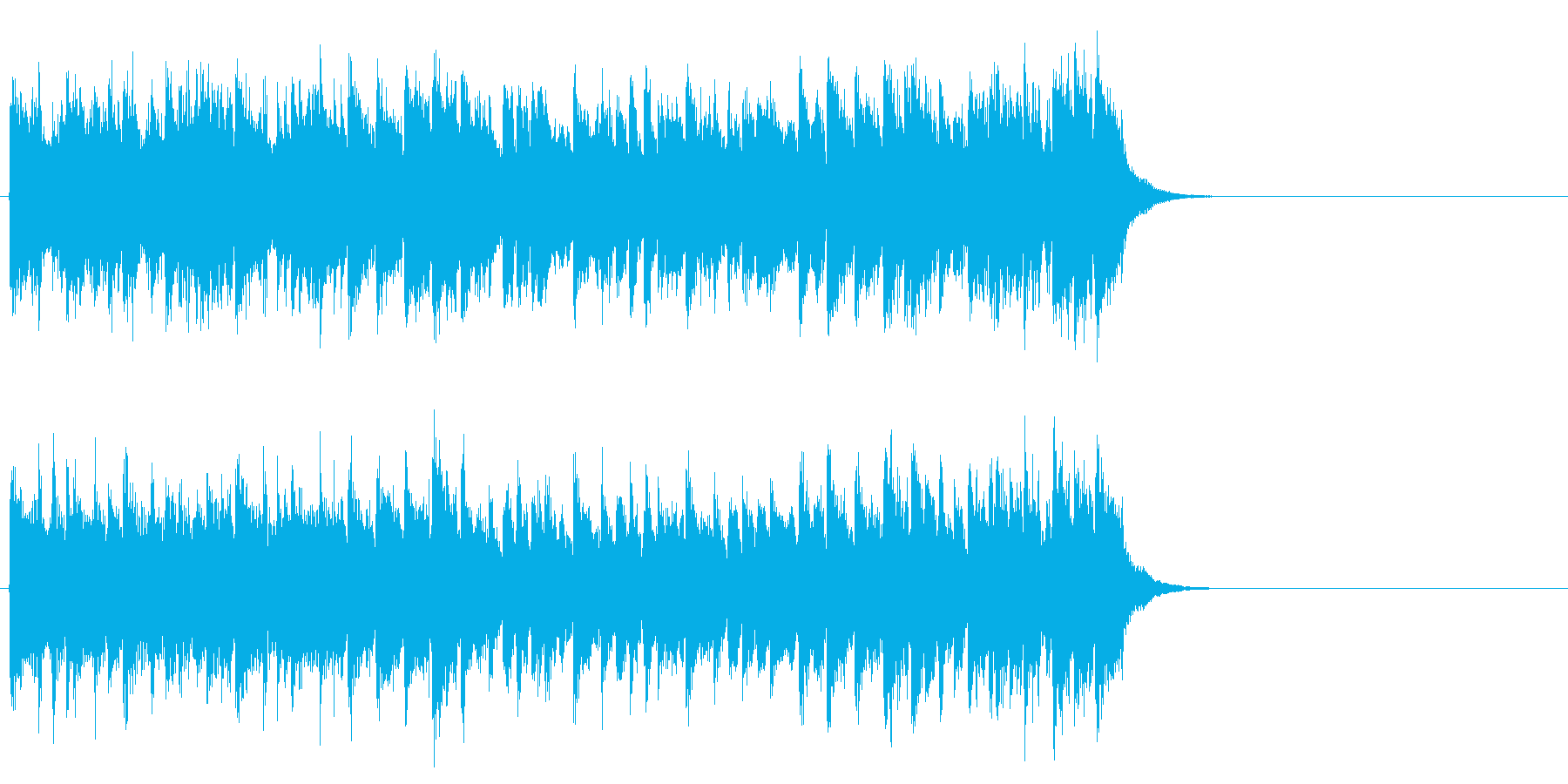 心が弾むOP向けポップス(イントロ)の再生済みの波形