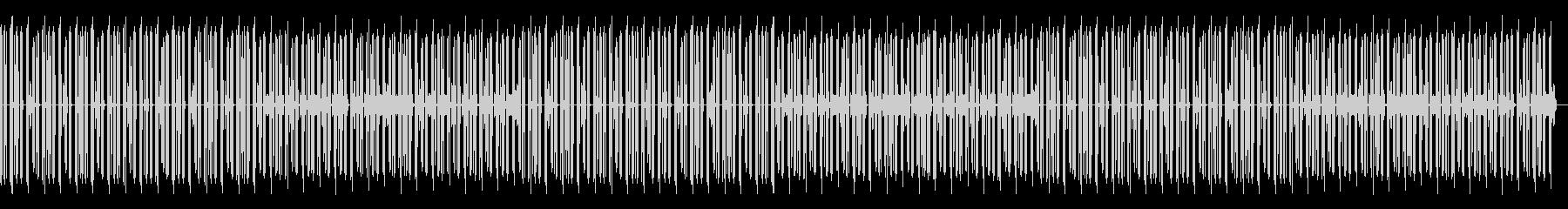 ピアノなしの未再生の波形