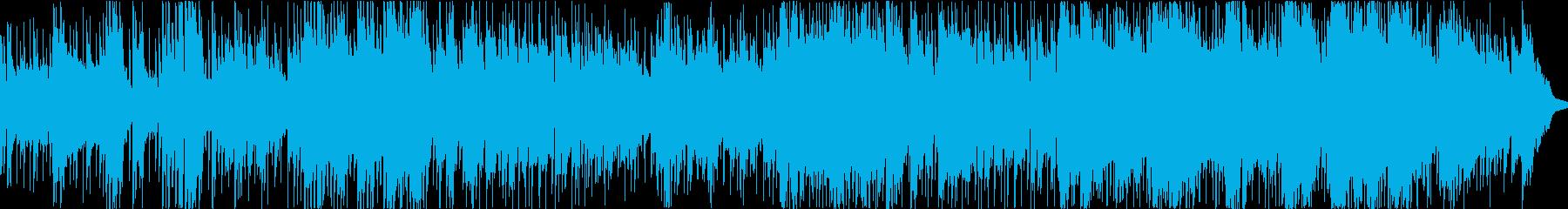 スローカントリーロック-バラードの再生済みの波形