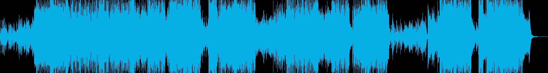 沖縄・南国を感じる三味線テクノポップ Lの再生済みの波形