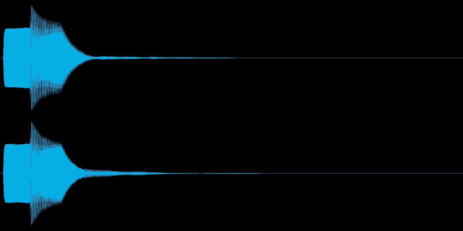 ピコン(キャンセル,終了,停止)_03の再生済みの波形