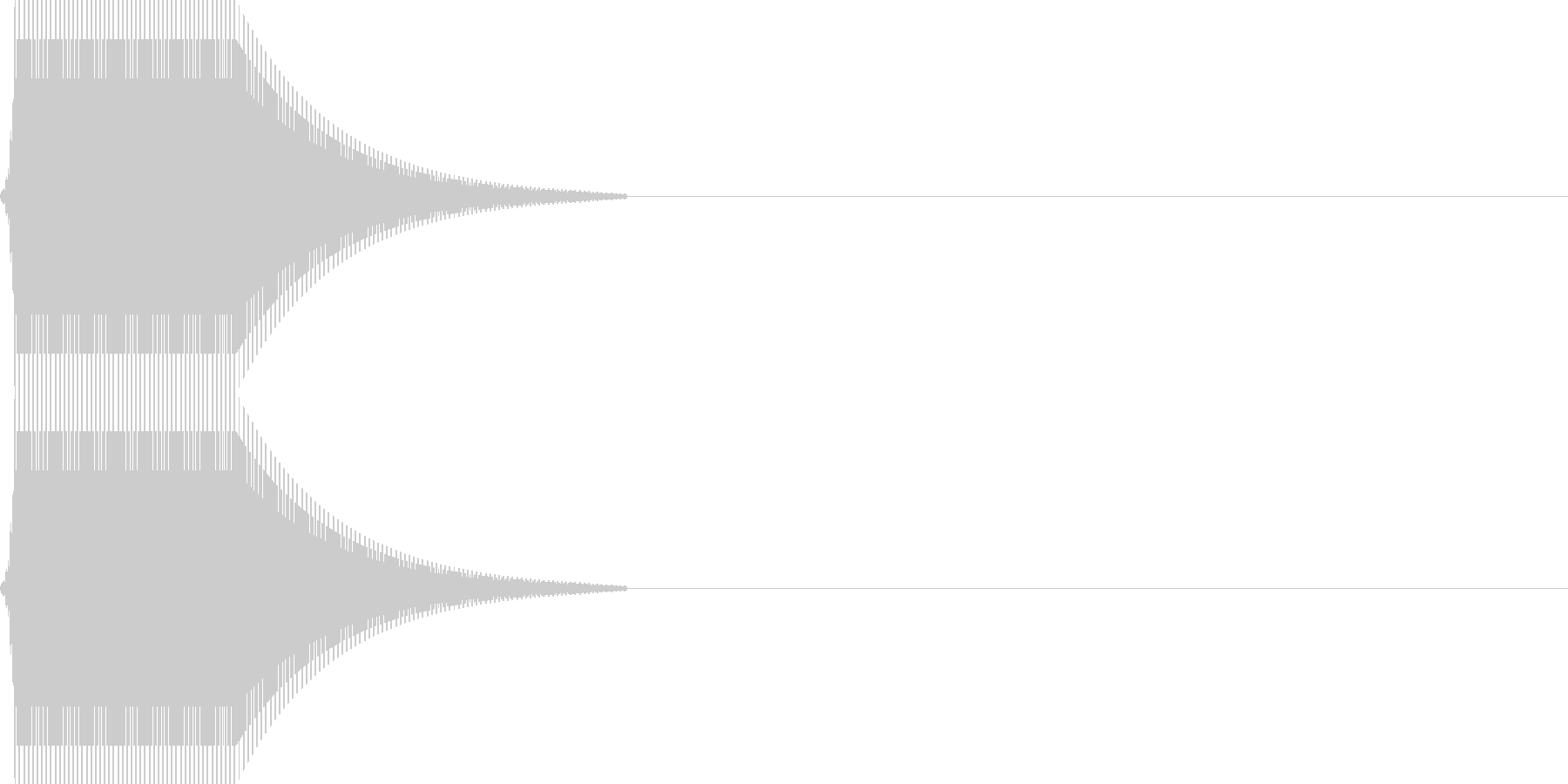 ポン_金属質(click_012_低)の未再生の波形