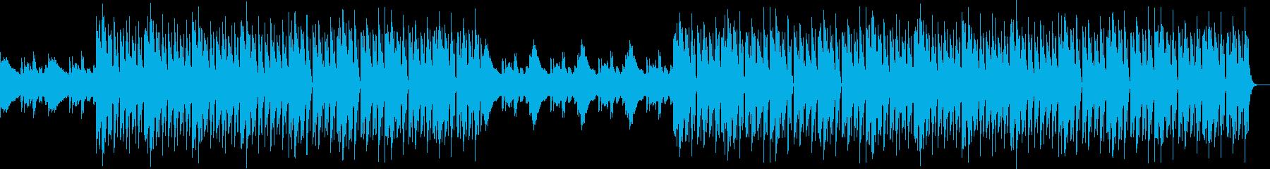 おしゃれYouTube、爽やか軽快ハウスの再生済みの波形