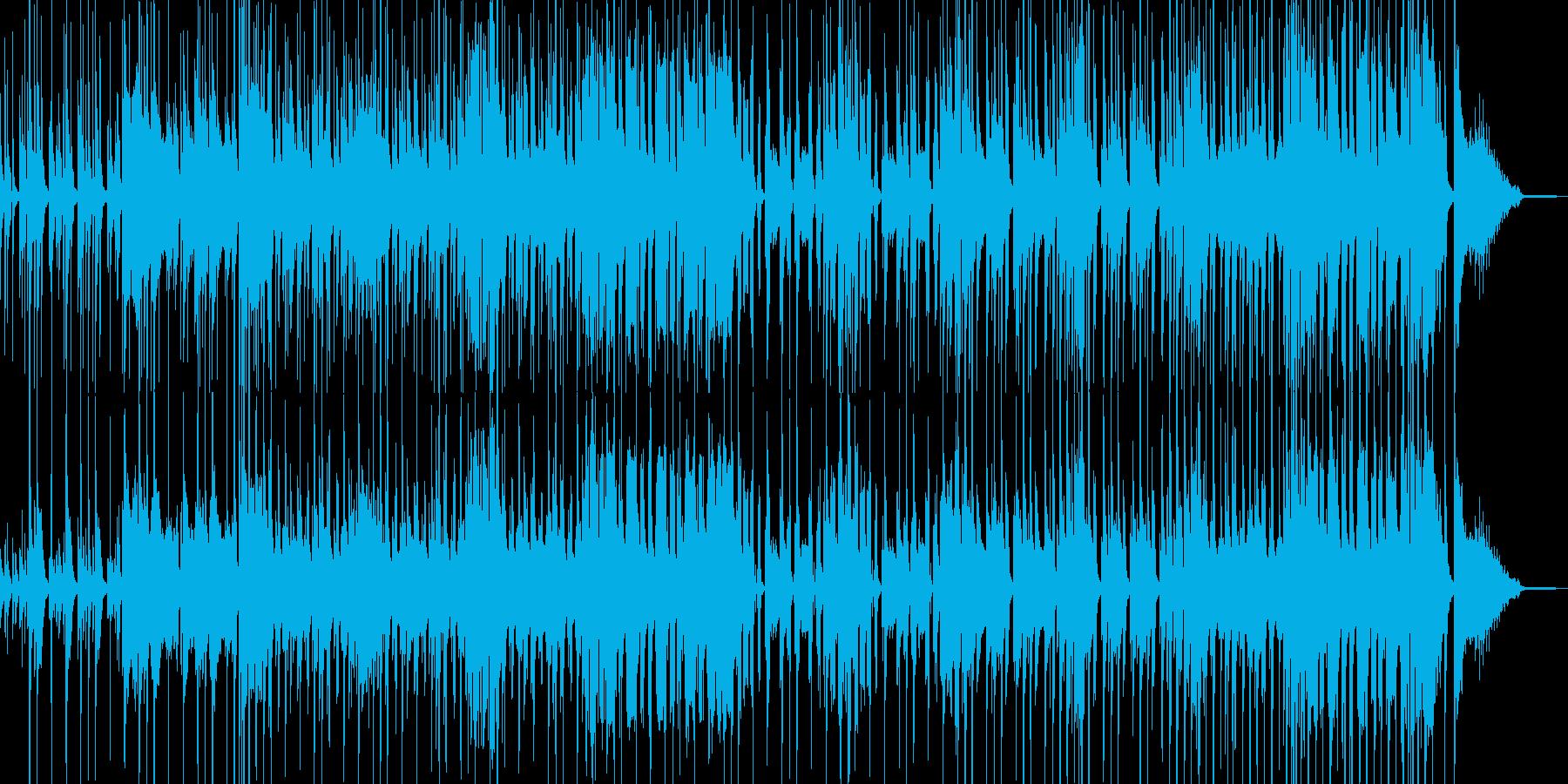 コメディに適したポップス・ベース有 ★の再生済みの波形