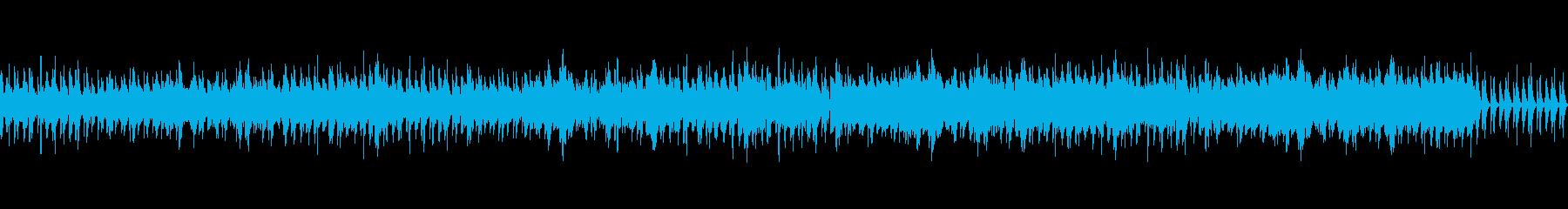 木洩れ日 木琴とフルートの爽やかなBGMの再生済みの波形
