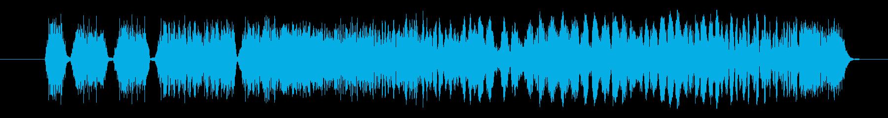 スタッタースイッチの再生済みの波形
