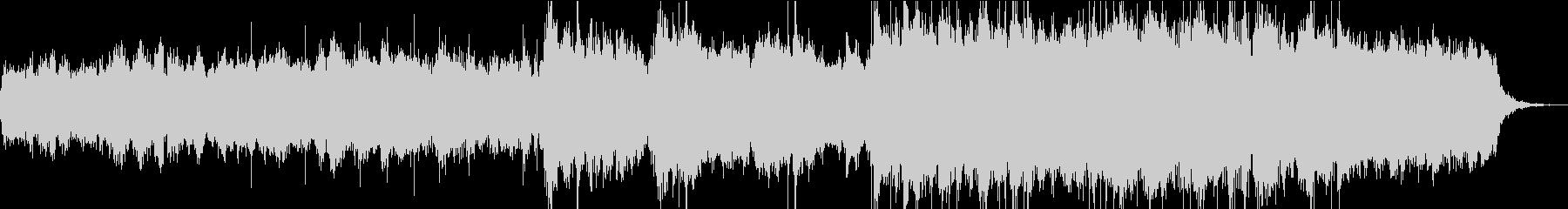 洋楽3 不確定な未来 ストリングスの未再生の波形