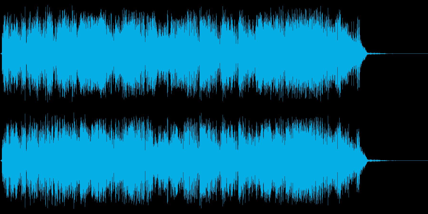 パルスを確認するの再生済みの波形