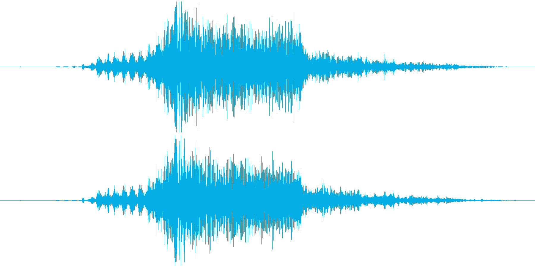 【ゲーム】ヒット_05 ビュンッドンッ!の再生済みの波形