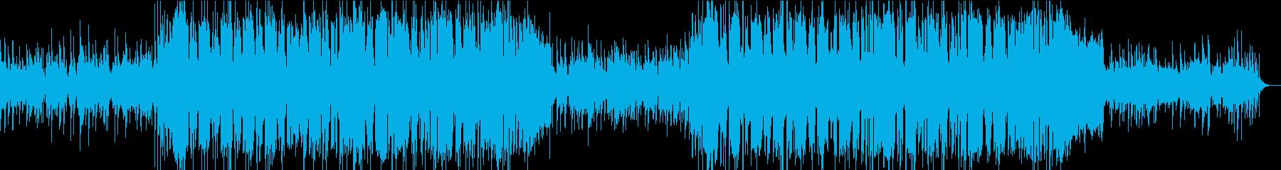 聞き込み 地道な捜査 アナログシンセ風の再生済みの波形
