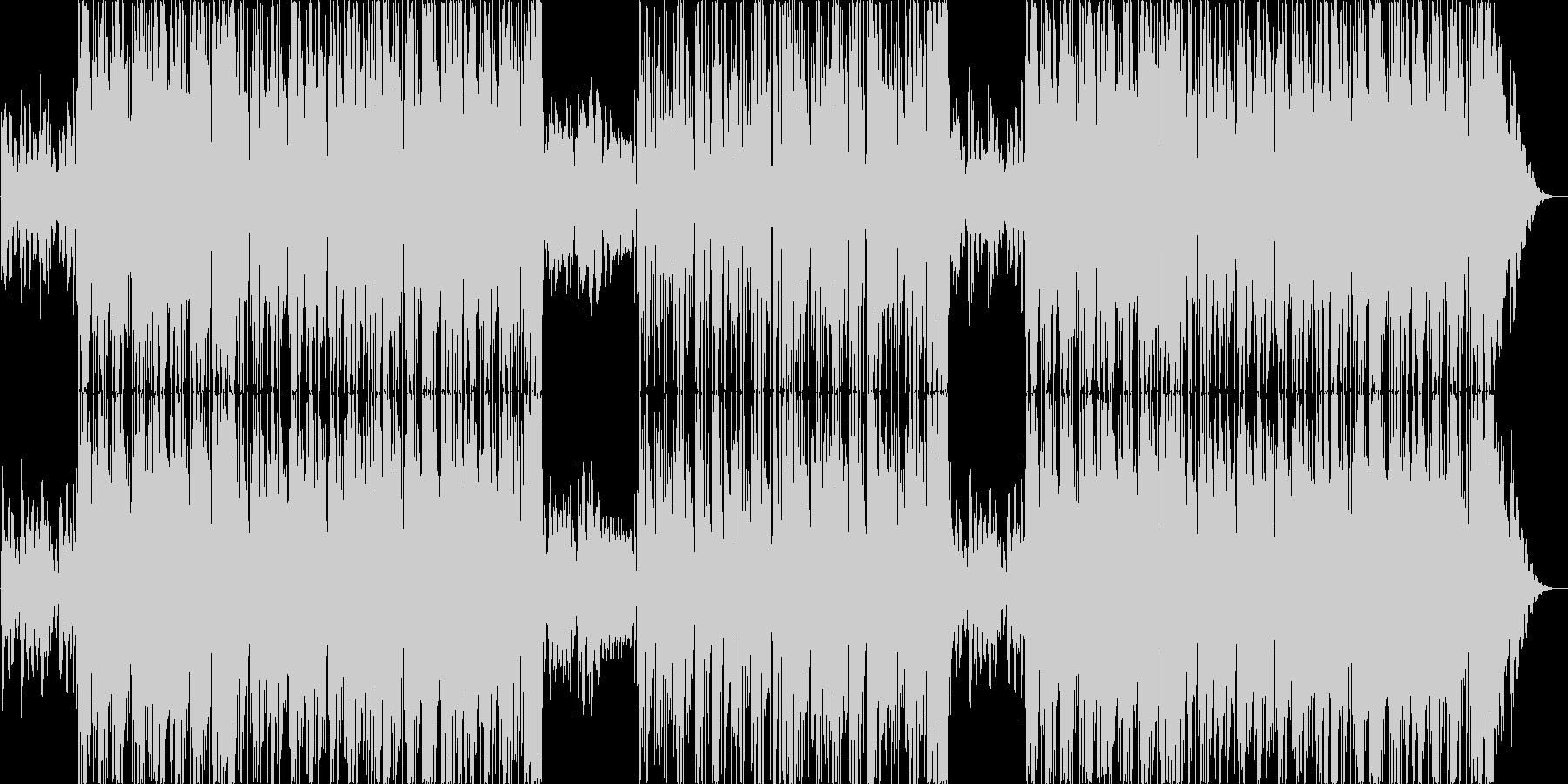ゆったり幻想的なラウンジジャズの未再生の波形