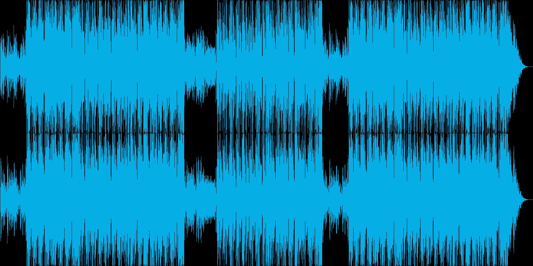 ゆったり幻想的なラウンジジャズの再生済みの波形