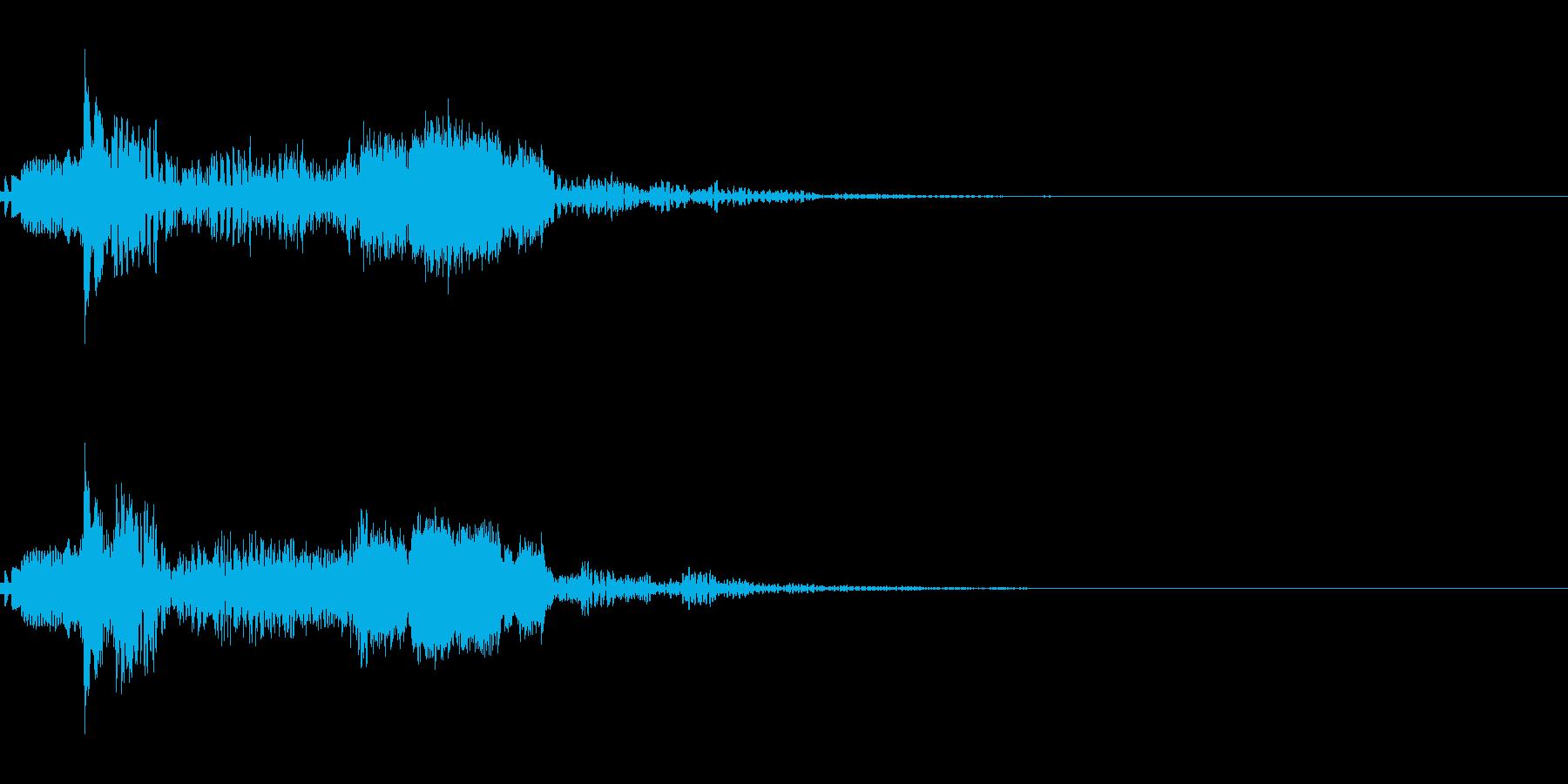 ラジオジングルキット 海外FM風の再生済みの波形