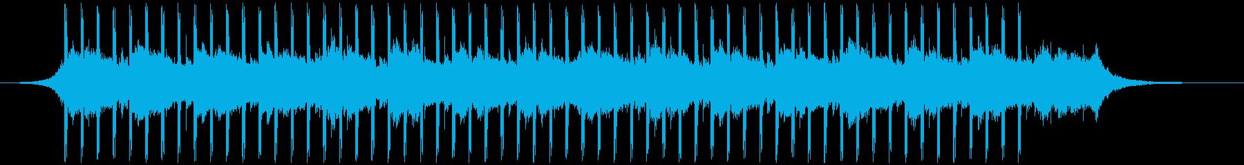 作品(38秒)の再生済みの波形