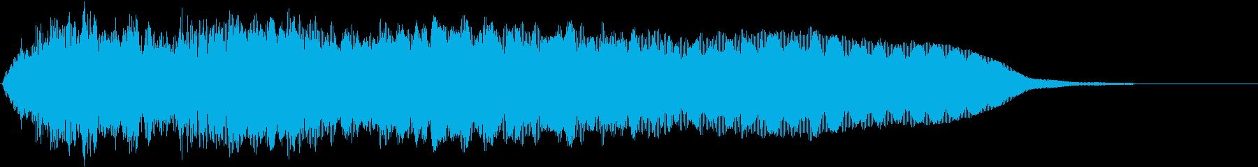 アラブ風の女性のコーラス_歌声_Dの再生済みの波形