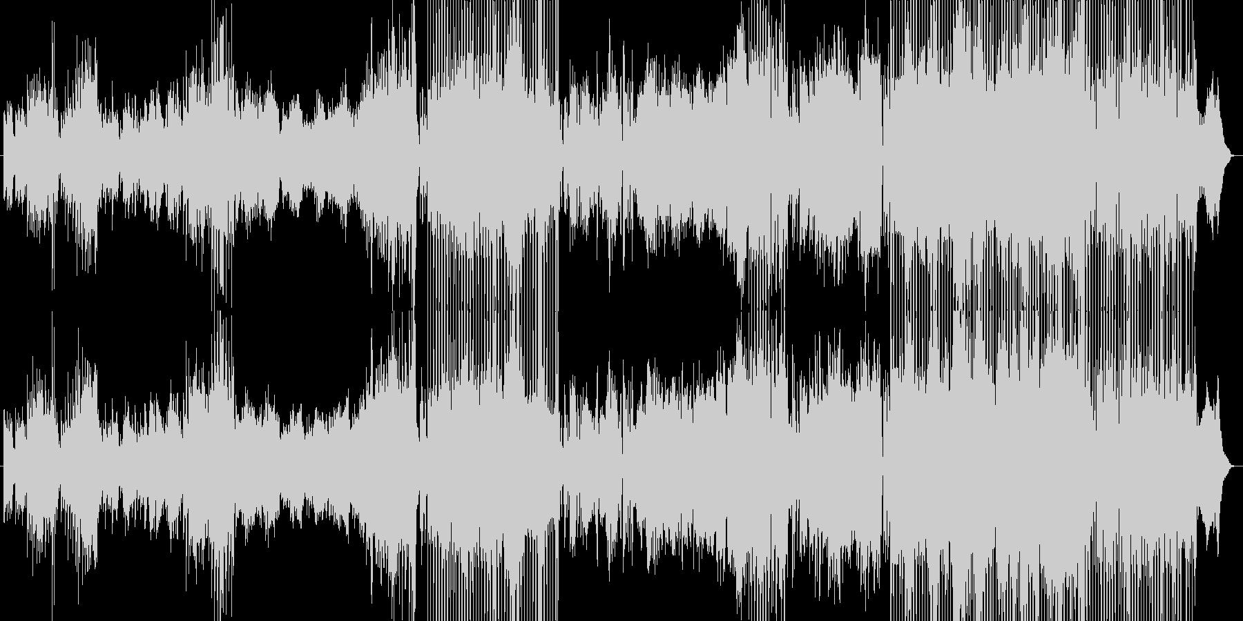 幻想的な和風エレクトロニカの未再生の波形