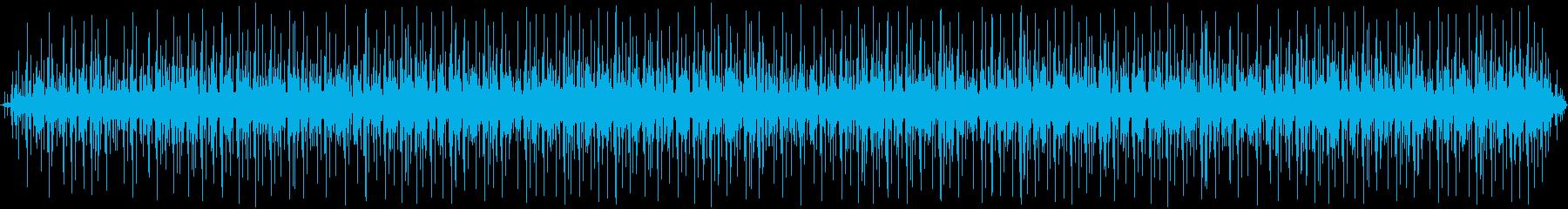 投稿機の確認:ランニング、ポスター...の再生済みの波形