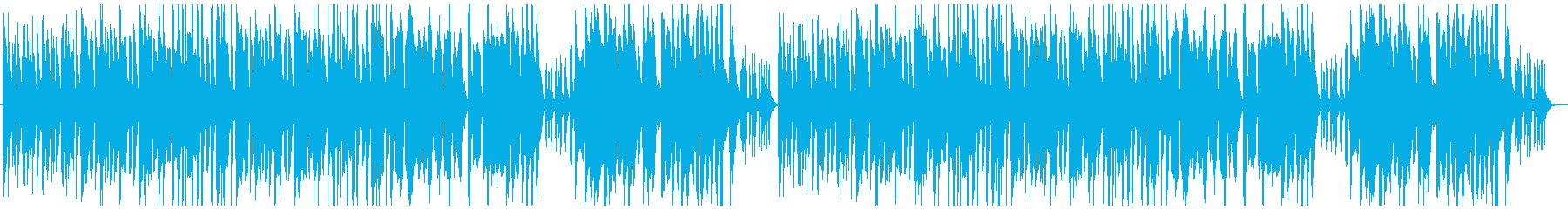 コミカル&ゆるい日常曲の再生済みの波形