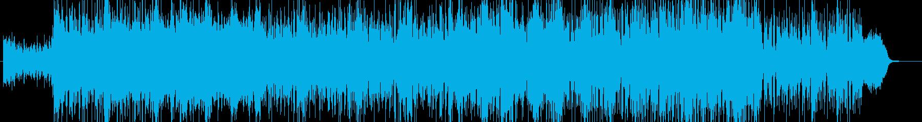 妖しげで不可思議なインスト曲の再生済みの波形
