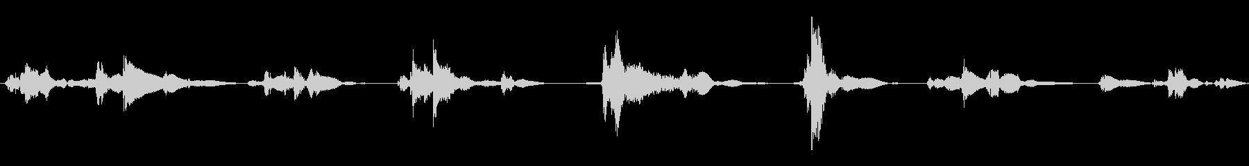 空の55ガロンドラム:いくつかのロ...の未再生の波形