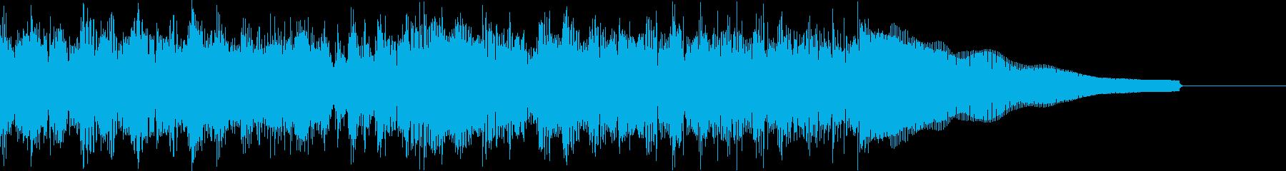 カントリー風ギターイントロ−07Hの再生済みの波形