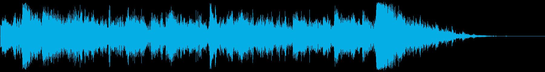 車の衝突とヒルサイドダウン車の衝突の再生済みの波形
