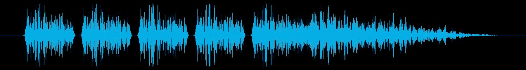 SNES シューティング02-11(ダメの再生済みの波形