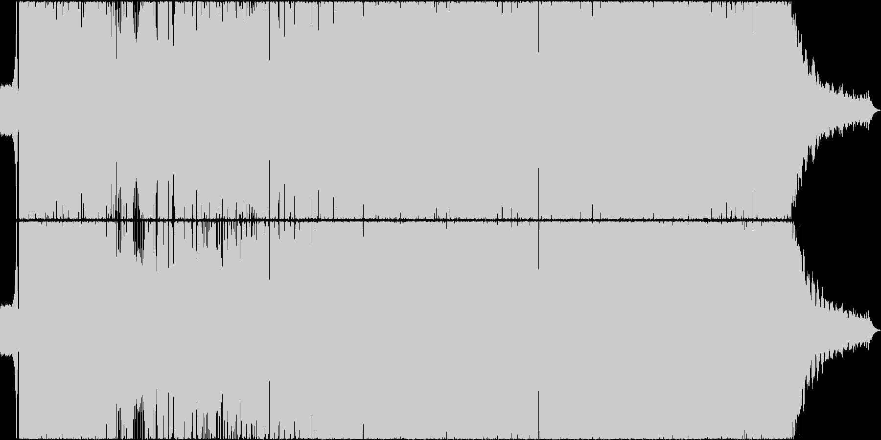 洋楽をイメージさせる和製ギターロック3の未再生の波形