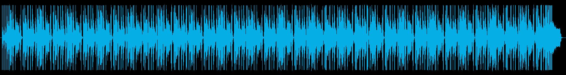 ヒップホップ・ジャズ・オシャレ・チルの再生済みの波形