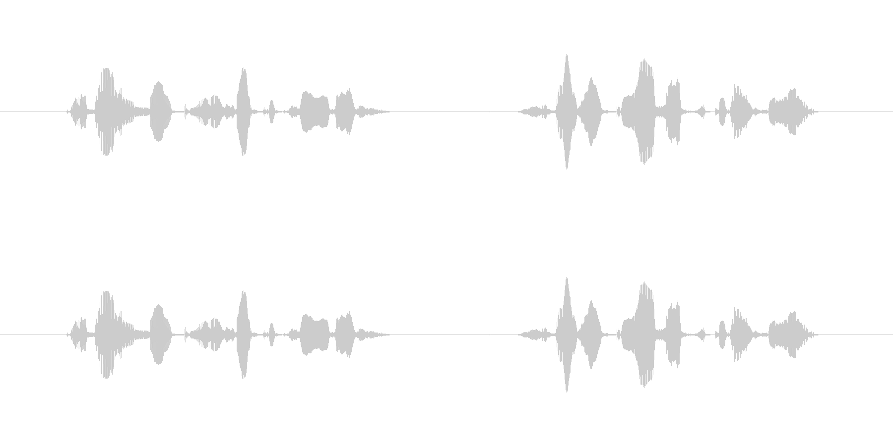 """""""Searching now. Please wait for a while.""""'s unreproduced waveform"""