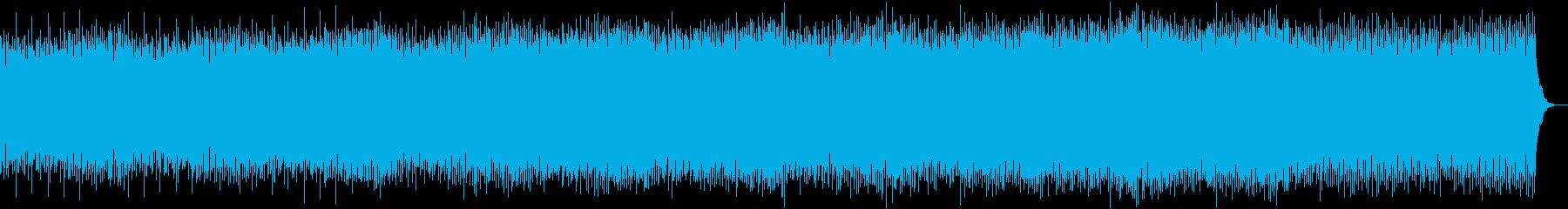 ホラー・ミステリー・心理シンセアルペジオの再生済みの波形